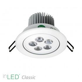 inLED Classic 5W vit LED spotlight 2700K eller 4000K