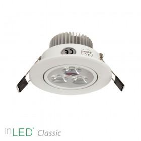 inLED Classic 3W vit LED spotlight