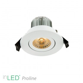 inLED Proline 7W COB vit LED spotlight