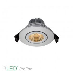 inLED Proline 5W COB silver LED spotlight