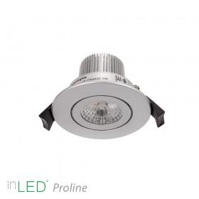 inLED Proline 7W COB silver LED spotlight