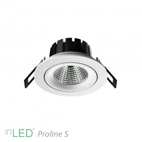 inLED Proline S 1 - 10W COB reflector LED spotlight vit