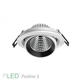 inLED Proline S 2 - 10W COB reflector LED spotlight vit