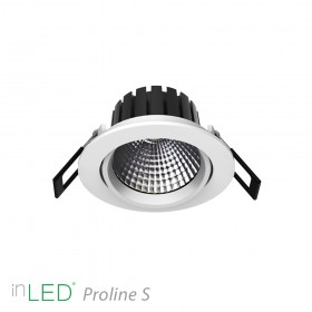 inLED Proline S 3 - 8W COB reflector LED spotlight vit