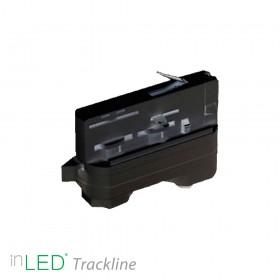 inLED Universal adapter för 3-fasskena, svart