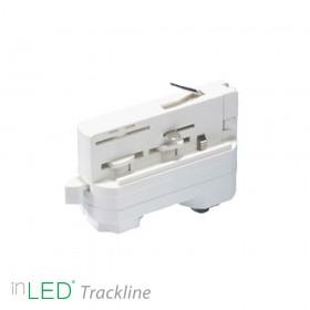 inLED Universal adapter för 3-fasskena, vit